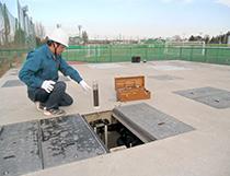 排水処理槽の全景