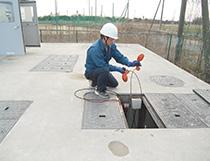 汚泥の沈降状況測定
