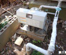 給水ポンプユニット取替工事