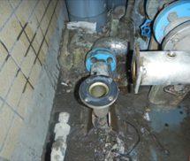 給水ポンプ修繕及び電極棒取替