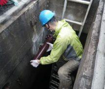 排水処理施設エアー管修繕工事
