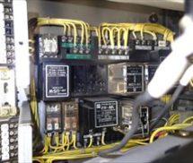 受水槽操作盤 リレースイッチ取替