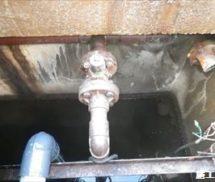 浄化槽ブロワー安全弁取替修繕