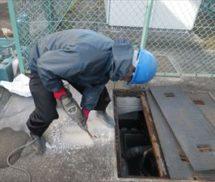 汚泥返送管新設工事