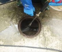 汚水流入管改修工事