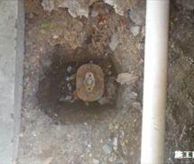 プール系統排水弁取替修繕
