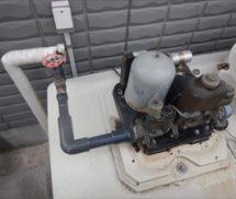 給水ポンプユニット取替
