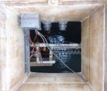 調整ポンプ交換工事及び電磁弁取替
