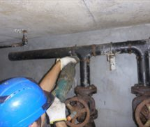 原水ポンプ交換修繕