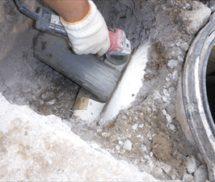 浄化槽亀裂修繕
