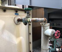 給水管修繕工事