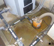 床排水ポンプ・マグネットスイッチ交換
