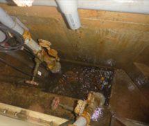 汚水槽・貯水槽湧水ポンプ取替工事