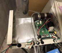 増圧ポンプユニット  NO.2インバーター及び圧力タンク取替