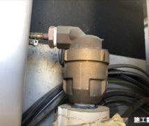 給水管  給排気弁取替