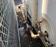 貯水槽  2次側給水配管修繕工事