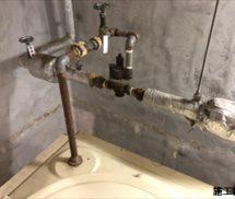 貯水槽  定水位弁取替