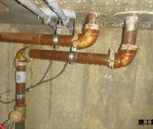雨水ポンプ交換工事