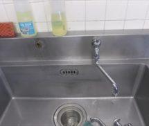 厨房 単水栓交換