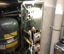 増圧給水ポンプユニット 制御基板修繕