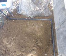 浄化槽ブロワー送気管改修工事