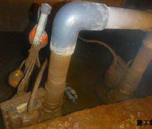 湧水ポンプ修繕工事