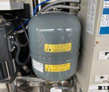 増圧給水ポンプユニット  圧力タンク取替