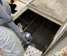 排水処理施設制御盤更新工事