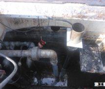 水位センサー交換